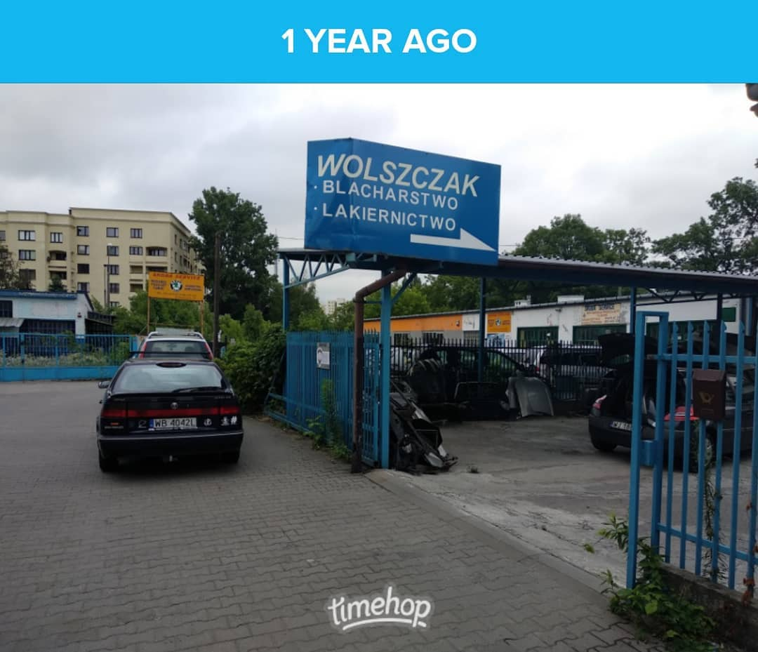 Rok po naprawach blacharsko-lakierniczych